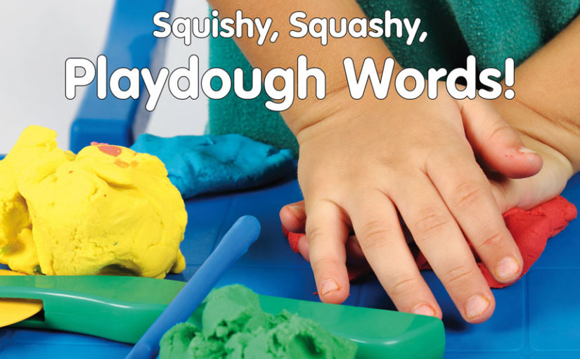 Playdough Reading Activity